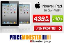 Bon plan: Le nouvel iPad à 439 euros.
