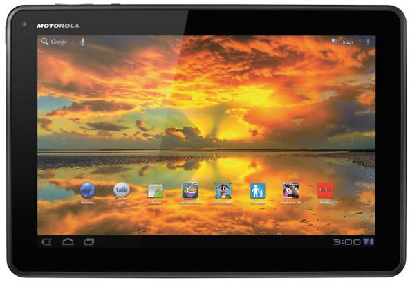 Mise à jour Android Jelly Bean pour Motorola Xoom