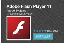Flash sous Android, ce n'est pas totalement fini