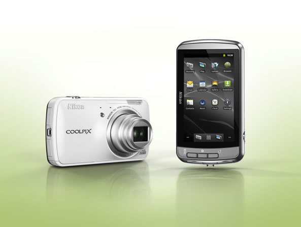Nikon Coolpix S800C Android