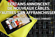 Nokia se moque de l'iPhone 5