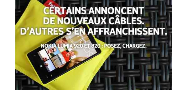 Publicité Nokia contre l'iPhone 5