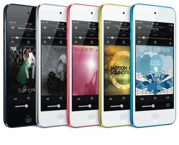 Cinquième génération d'iPod touch