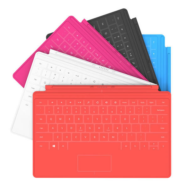 Clavier Microsoft pour tablette Surface - Touch Cover