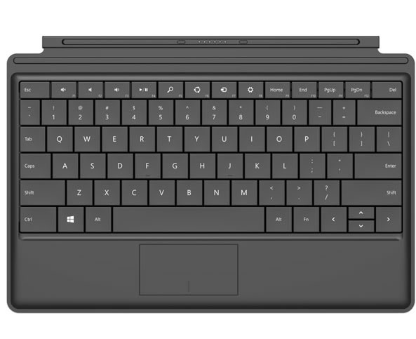 Clavier Microsoft pour tablette Surface - Type Cover