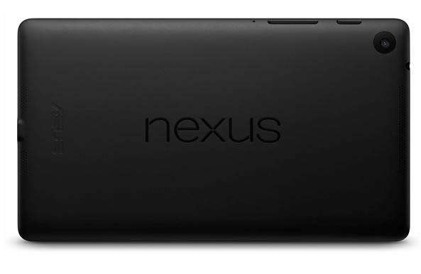 Nexus 7 - Tabeltte Google