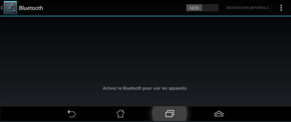 Activation Bluetooth - Android