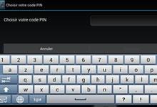 Sécurité Android - Code PIN