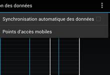 Gérer la synchronisation automatique sur Android