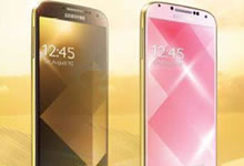 Samsung S4 - Gold Edition
