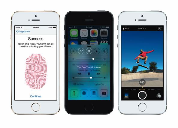 iOs 7 - Apple iPhone 5S