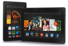 Les nouvelles tablettes Kindle Fire HD d'Amazon