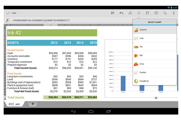 QuickOffice Android