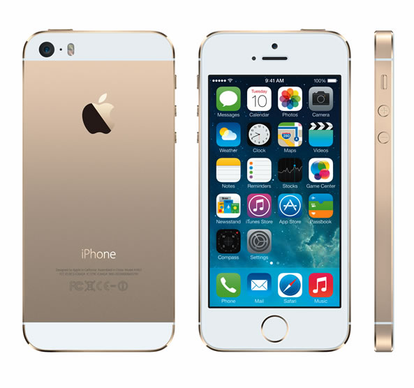 Smartphone iPhone 5S couleur or