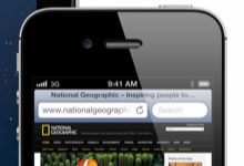 Astuce Safari – Revenir en haut d'une page web