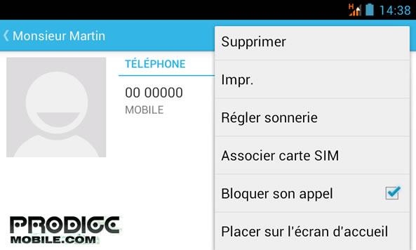Bloquer appels sur Android