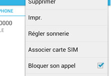 Tutoriel Android: bloquer automatiquement des appels