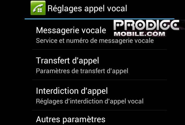 Bloquer numéro Android
