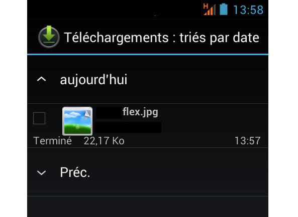 Téléchargement image d'une site web - Android