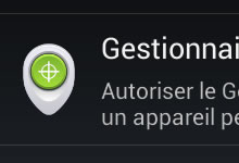 Android Device Manager - Géolocaliser son mobile