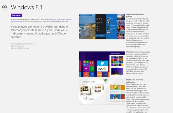 Installation Windows 8.1