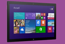 Windows RT 8.1 pour tablettes tactiles