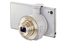 Sony QX10, objectif photo