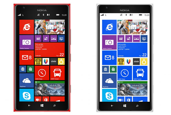 nokia lumia 1520 smartphone avec cran 6 pouces. Black Bedroom Furniture Sets. Home Design Ideas