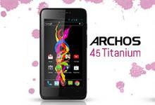 Archos Titanium: smartphones Android d'entrée de gamme