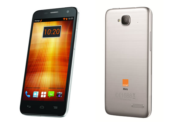 Smartphone Orange Hiro