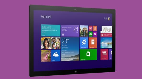 Mise à jour Windows RT 8.1