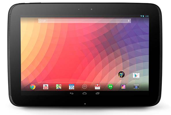 Nexus 10 - Mise à jour Android 4.4 Kitkat