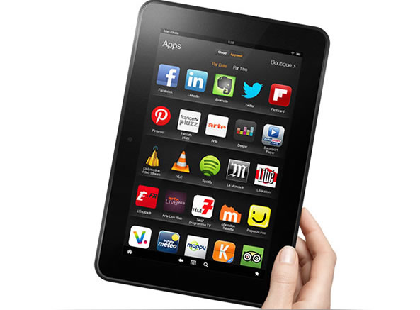 Bon plan: Kindle Fire HD 16 Go d'Amazon