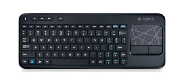 Clavier Bluetooth multimedia K400 de Logitech