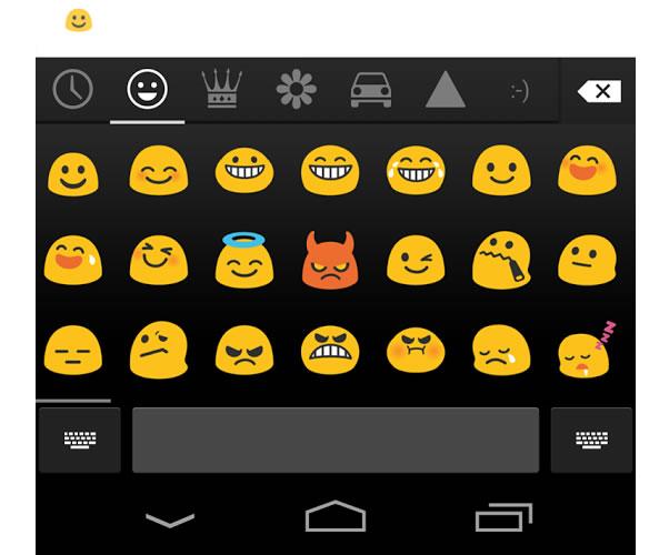 Emojis- Nouveau clavier Google pour Android