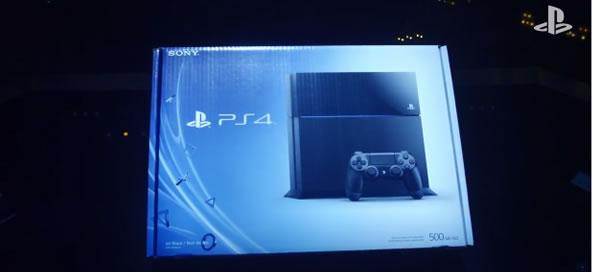 Déballage vidéo Sony PlayStation 4
