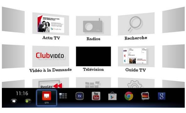 Android sur son poste de télévision