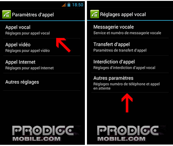 Activer double appel sur smartphone Android
