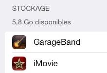 Libérer de l'espace mémoire sur votre iPhone