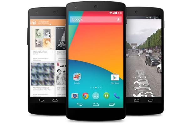 Smartphone Android - Google Nexus 5