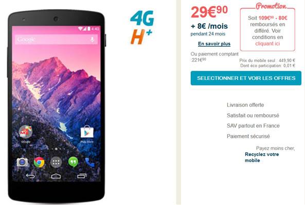 Nexus 5 Bouygues Telecom
