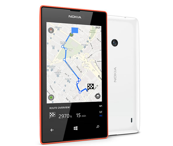 Nokia Lumia 525 - Here maps