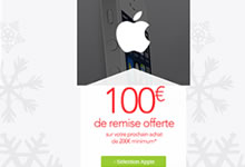 iPhone 4S ou 5C acheté et on vous offre 100 € en bon d'achat