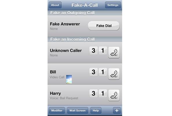 Simuler de faux appels sur votre smartphone