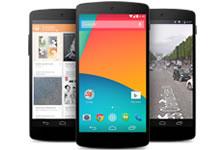 Le Nexus 5 de Google est officiellement lancé