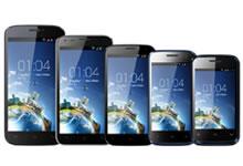 Les nouveaux smartphones Kazam