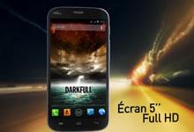 Wiko Darkfull, smartphone 5 pouces Full HD à 269 euros