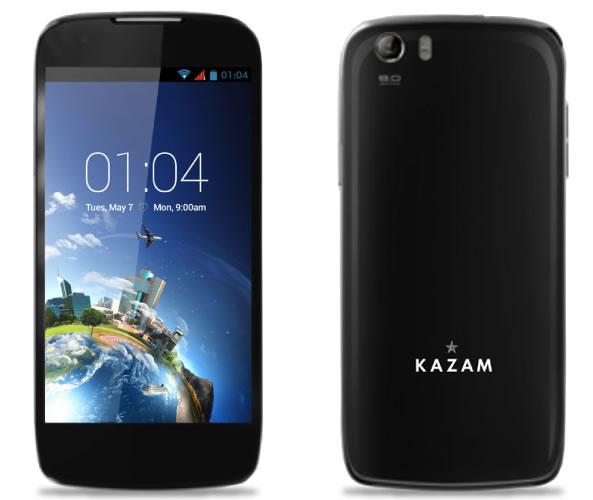 Téléphone portable - Kazam - Android
