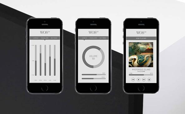Wall od Sound 2.0 - Enceinte iPhone