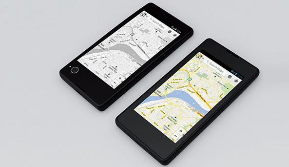 YotaPhone - Smartphone avec écran e-link